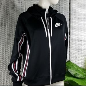 Nike Loose Fit Classic Warm-Up Jacket Womens M